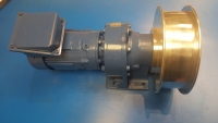 Motor Gearbox unit with 200mm pulley